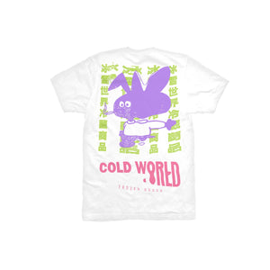 COLD WORLD M'S T-SHIRTS COLD BUNNY TEE