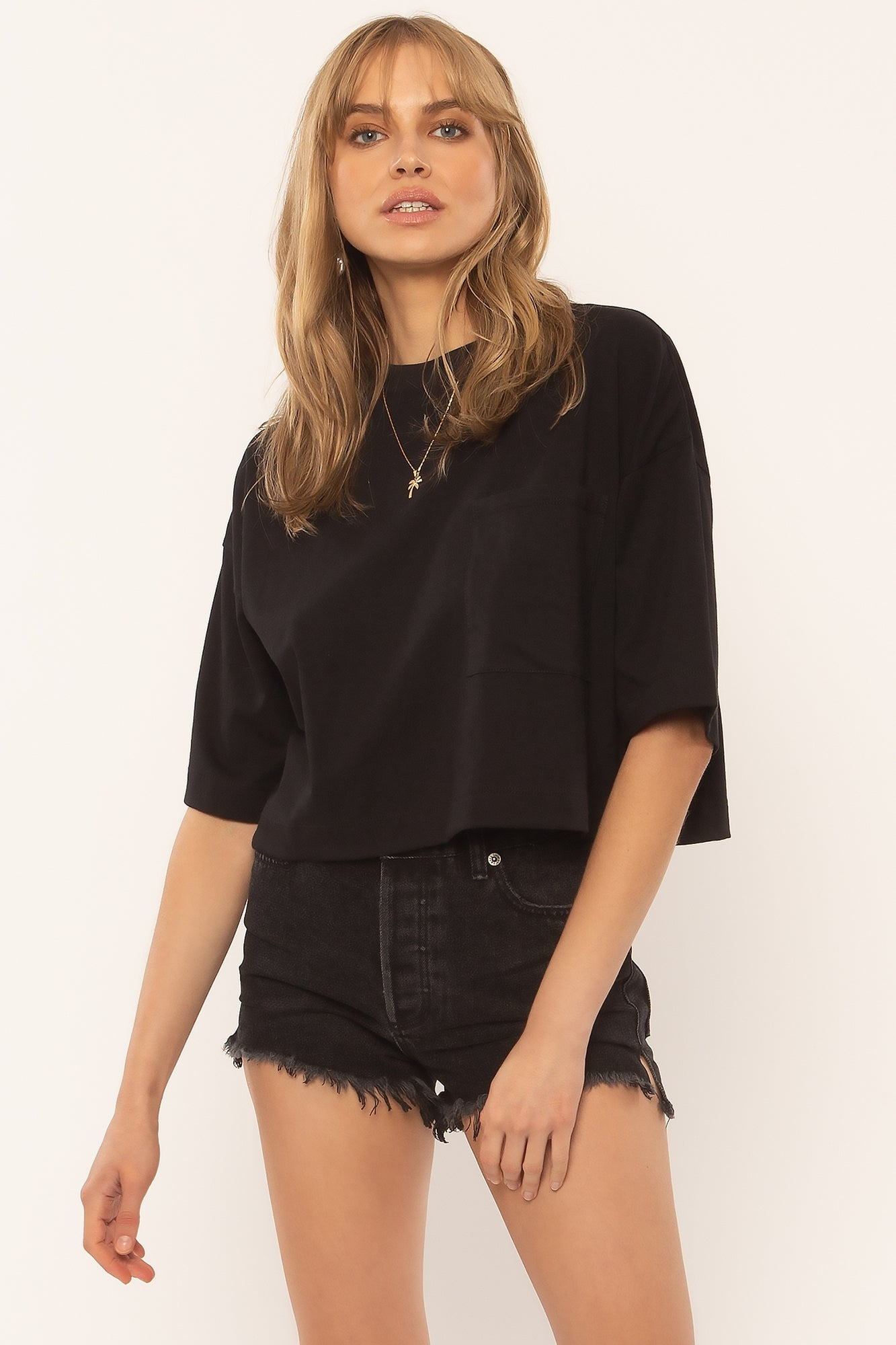 AMUSE SOCIETY W'S SHIRTS EASY LIFE KNIT TOP