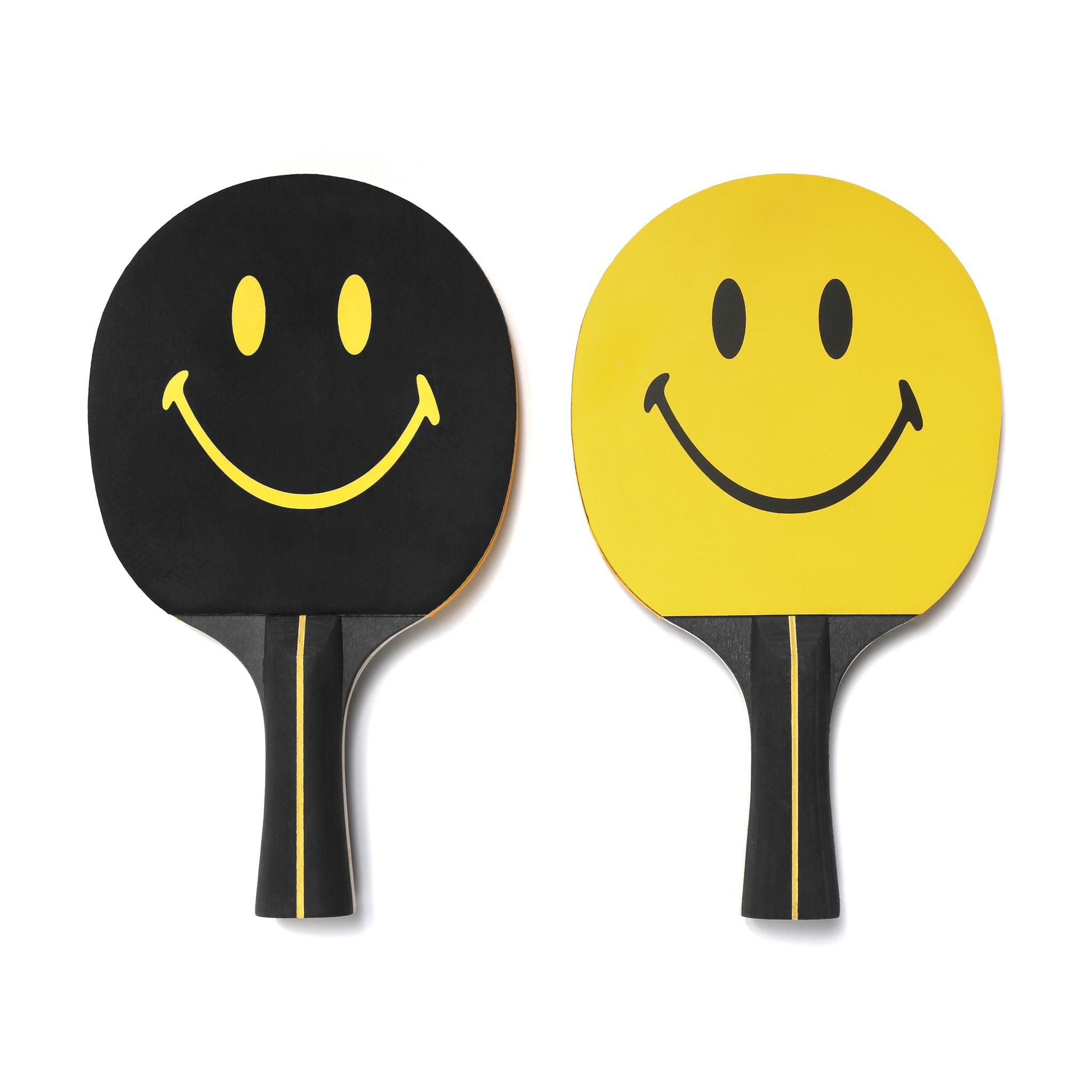 SMILEY PING PONG PADDLE SET