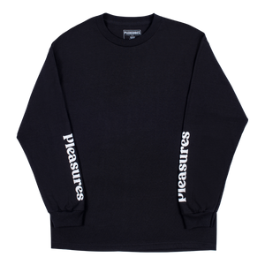 PLEASURES M'S T-SHIRTS TOUCH LONG SLEEVE