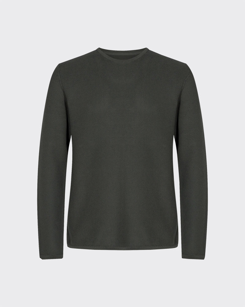 MINIMUM M'S SWEATERS RACING GREEN S REISWOOD 2.0 JUMPER