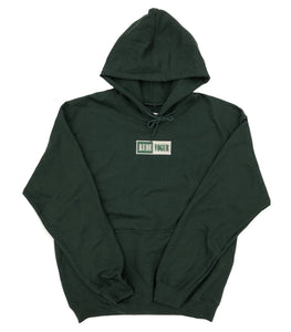 RUDE VOGUE M'S HOODIES WARM UP HOODIE - FOREST GREEN