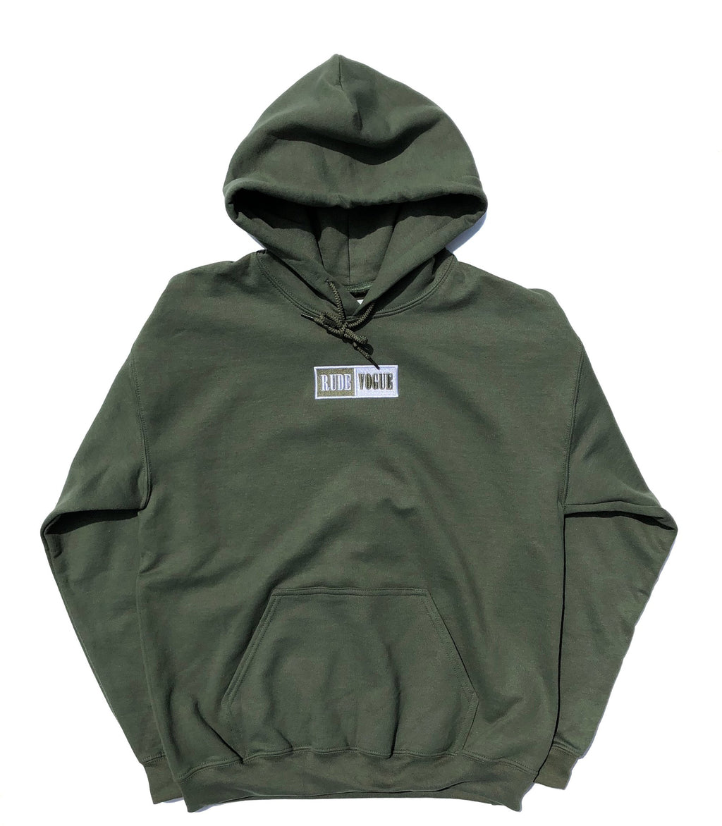 WARM UP HOODIE - MILITARY GREEN