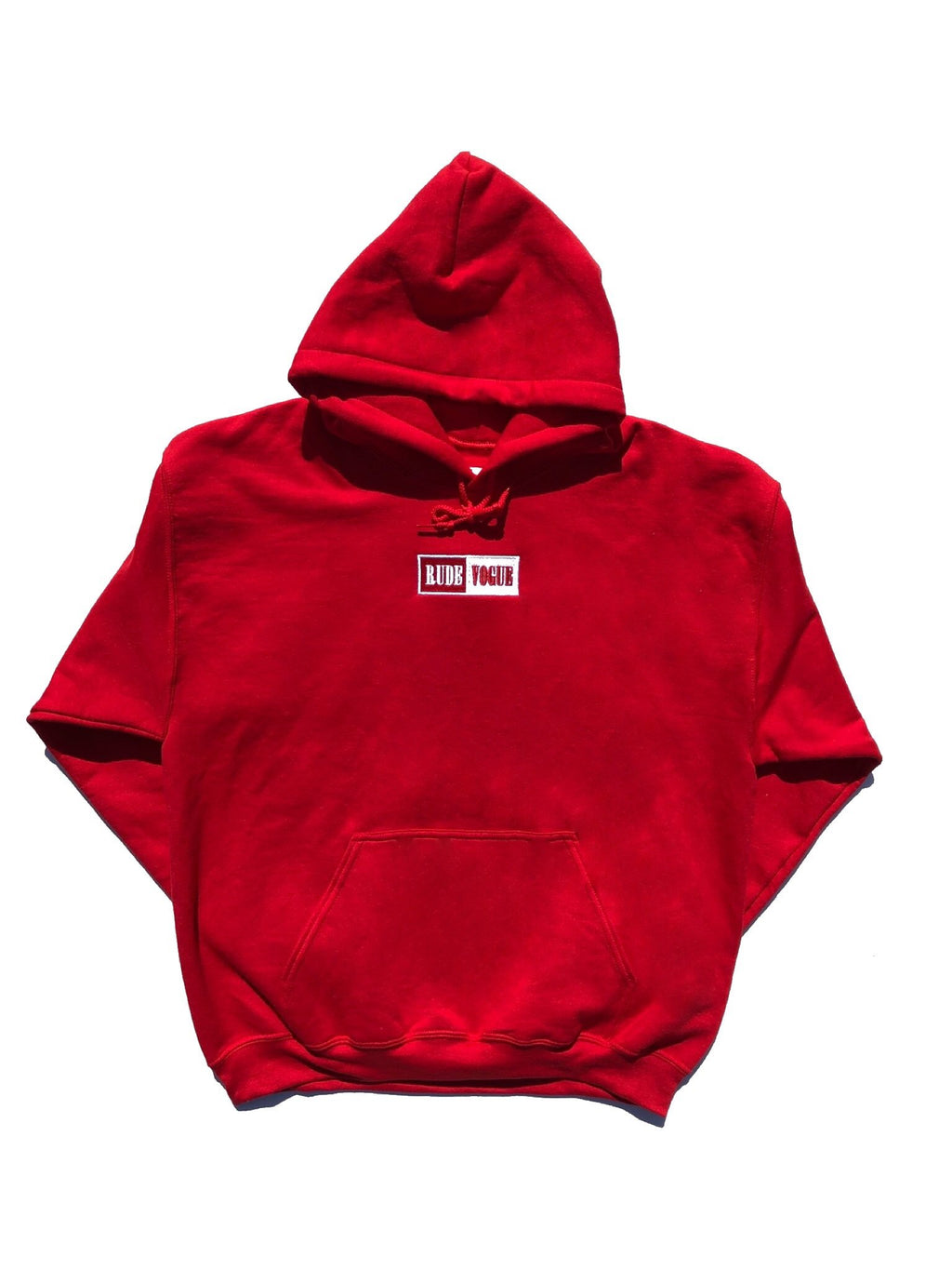 WARM UP HOODIE - RED