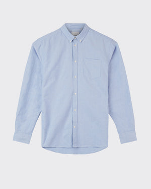 MINIMUM M'S SHIRTS LT BLU L JAY 2.0 LONG SLEEVED SHIRT