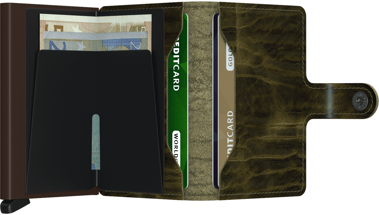SECRID WALLETS MINIWALLET DUTCH MARTIN OLIVE