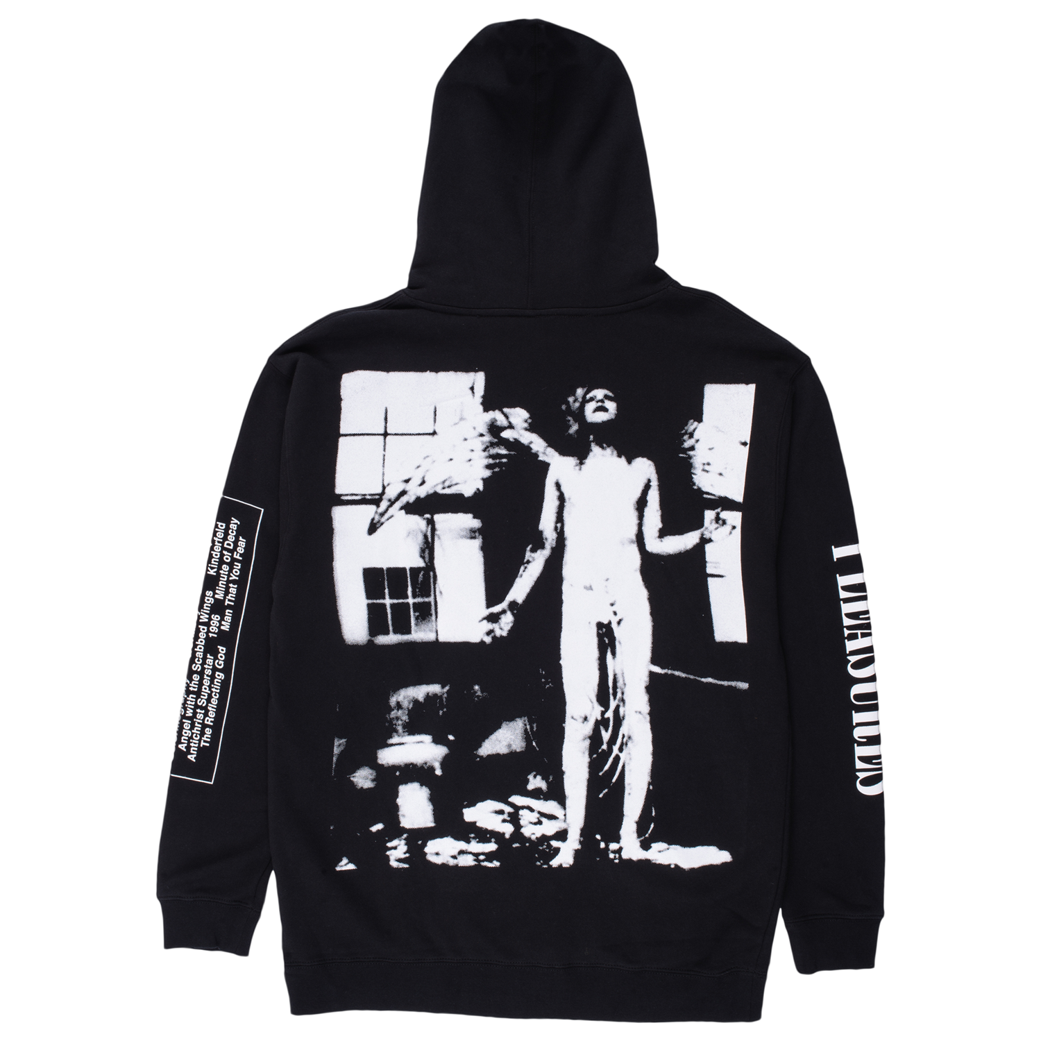 PLEASURES M'S HOODIES ANTICHRIST HOODY