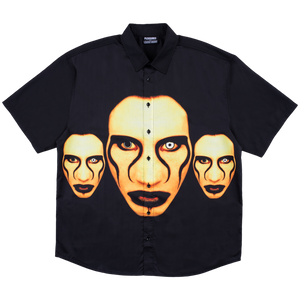 PLEASURES M'S SHIRTS MANSON BUTTON DOWN