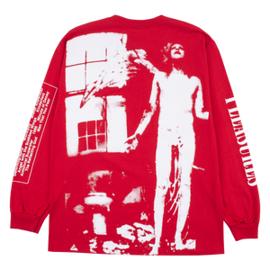 PLEASURES M'S T-SHIRTS ANTICHRIST LONG SLEEVE