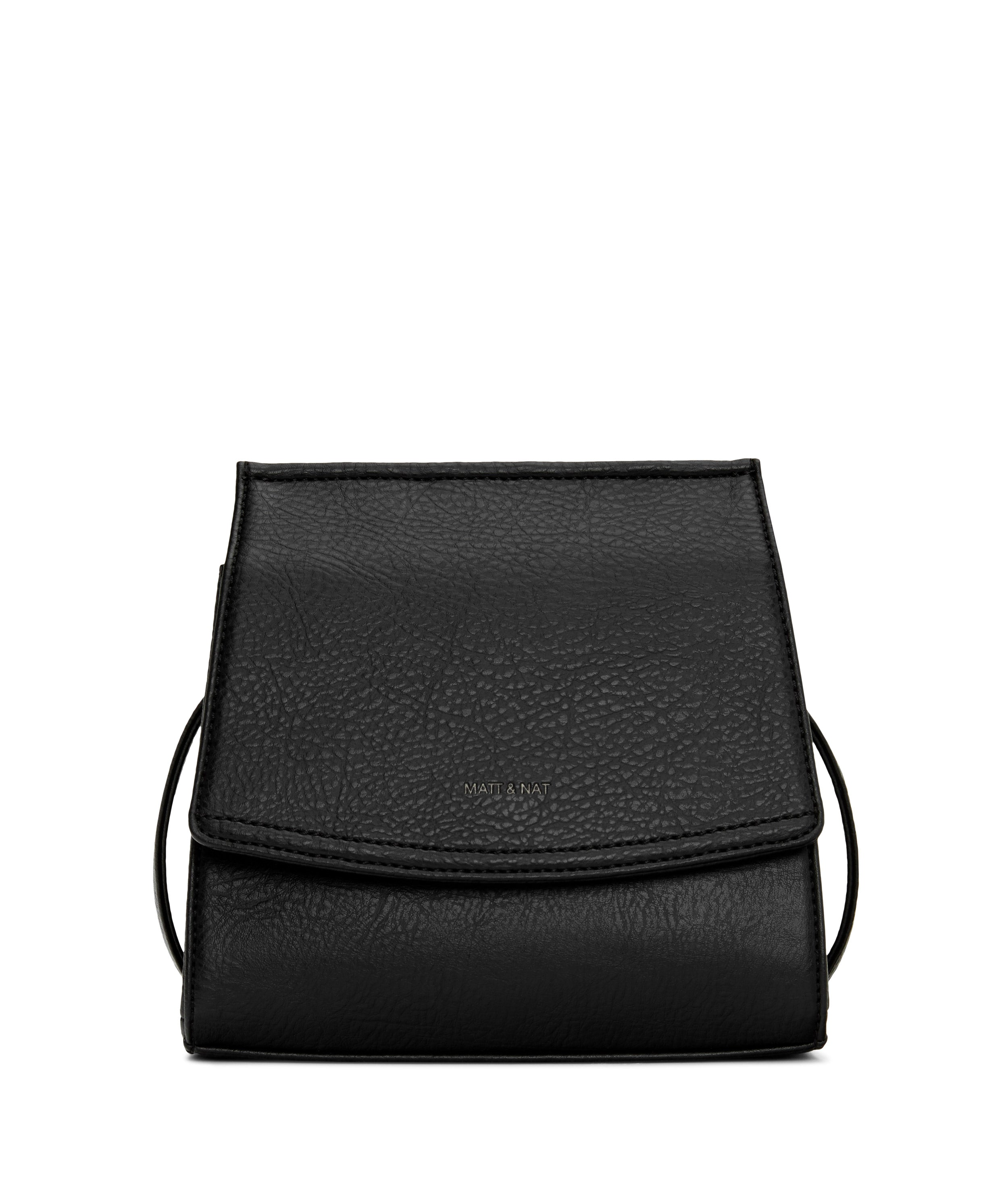 MATT & NAT HAND BAGS MATT & NAT ERIKA CROSSBODY BAG - BLACK