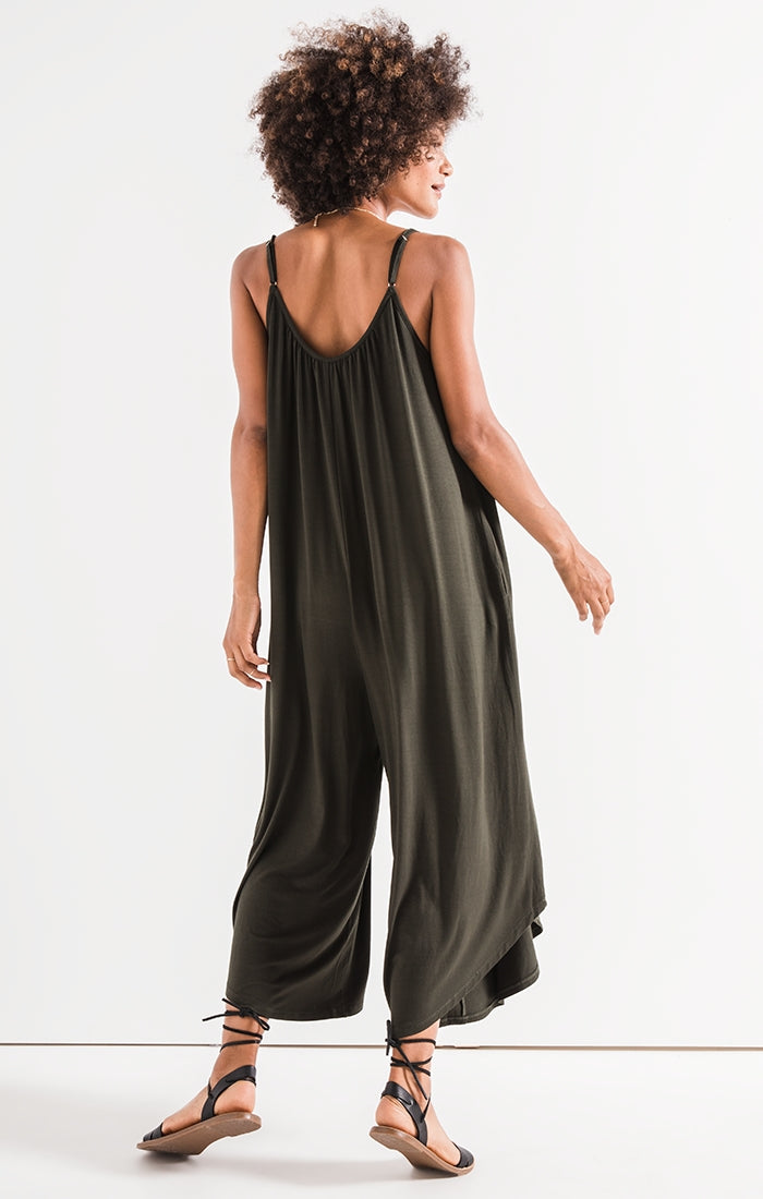 Z SUPPLY FLARED JUMPSUIT