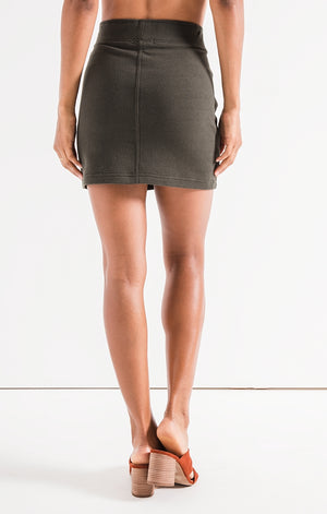 Z SUPPLY W'S SKIRTS THE KNIT MINI SKIRT
