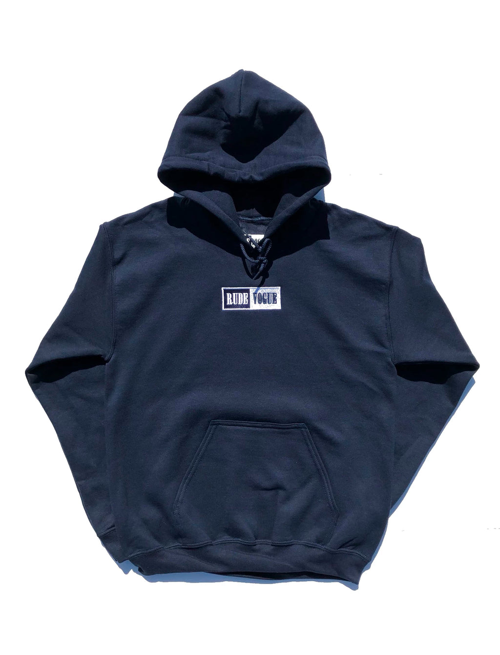 WARM UP HOODIE - NAVY