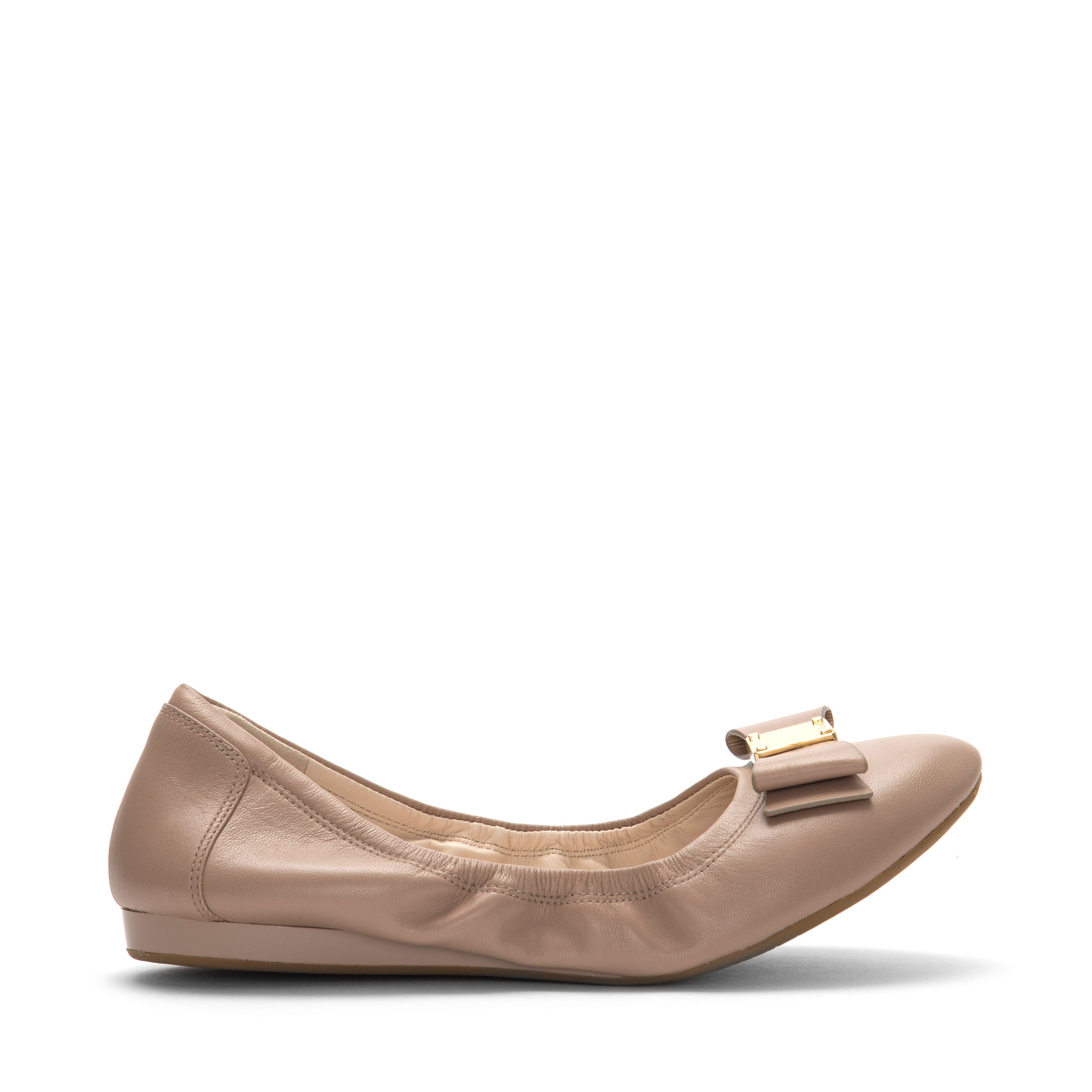 Cole Haan Women Tali Bow Ballet Shoe - Chaussures Porto