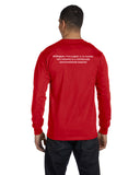 50/50 Polytech Long Sleeve T-shirt (Unisex)