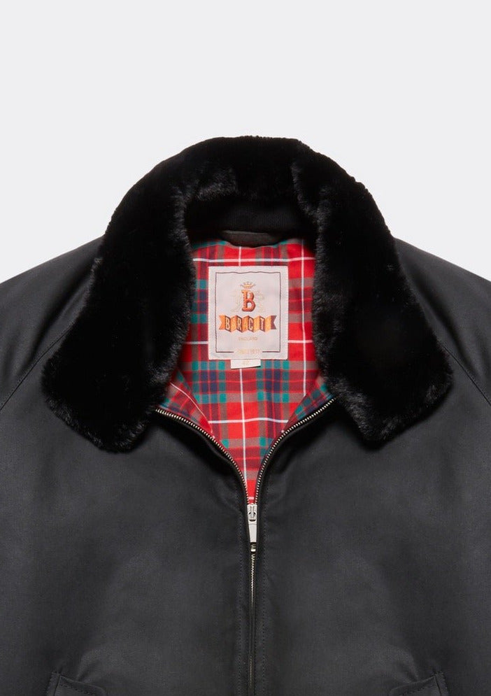 G9 Waxed Eco Fur Collar