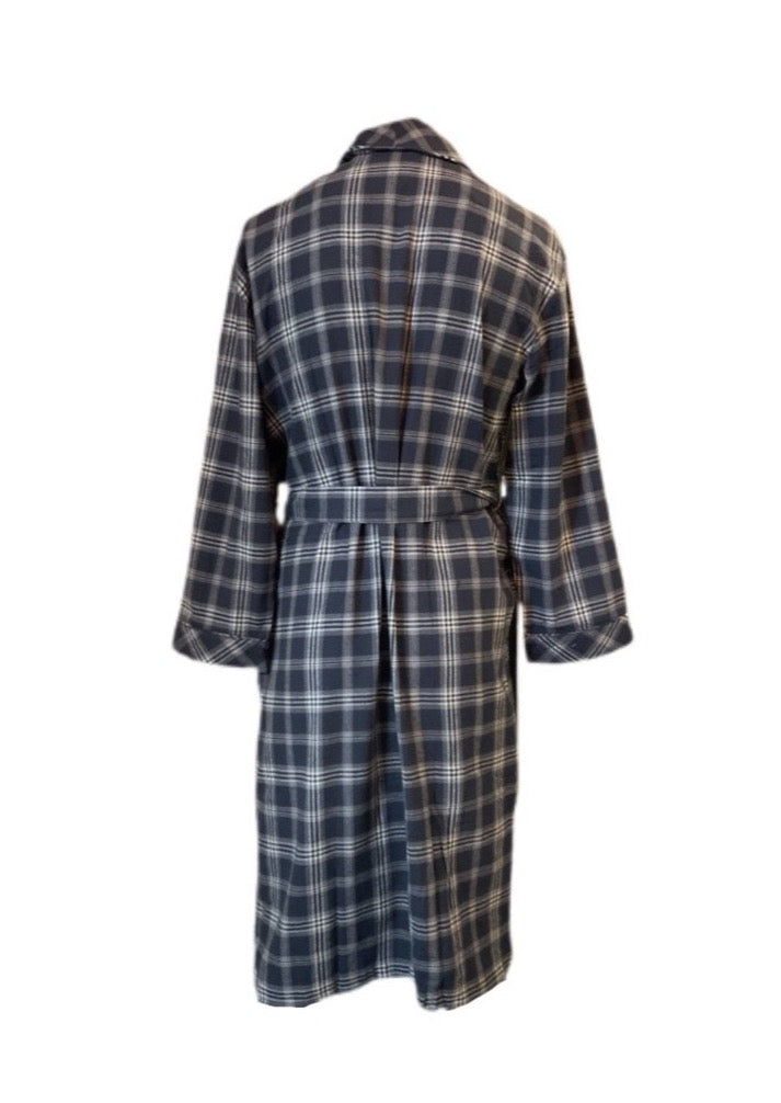Flannel Shawl Robe