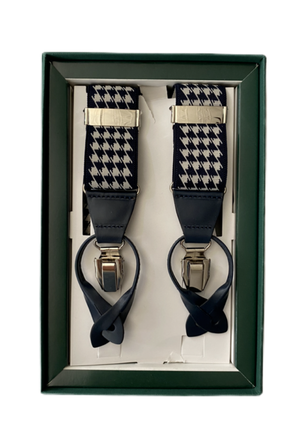 Houndstooth Suspenders