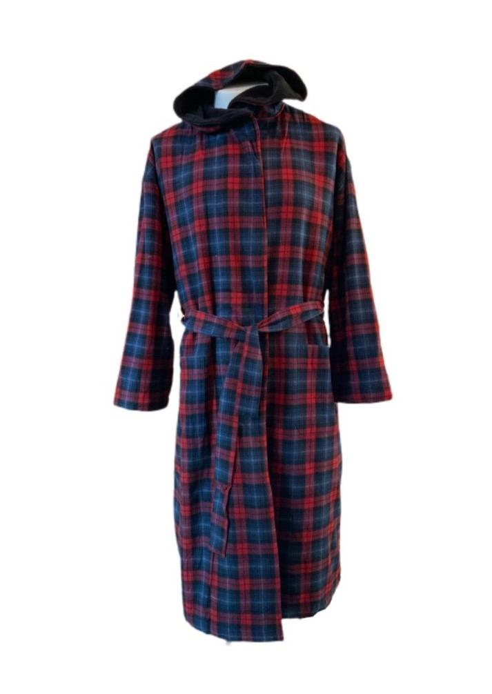 Fleece Lined Hooded Robe