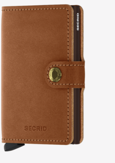 Miniwallet Original Cognac-Brown