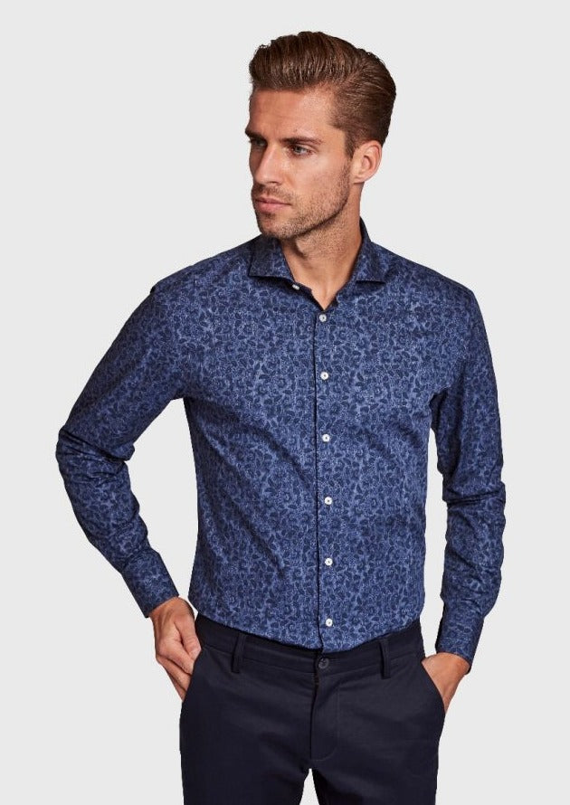 Brock Printed Slim Shirt