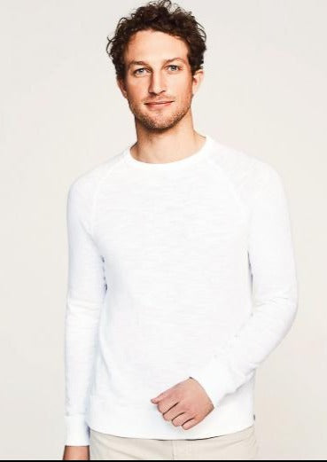 Slub Cotton Raglan Sweatshirt