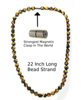 Mens Tiger Eye Necklace