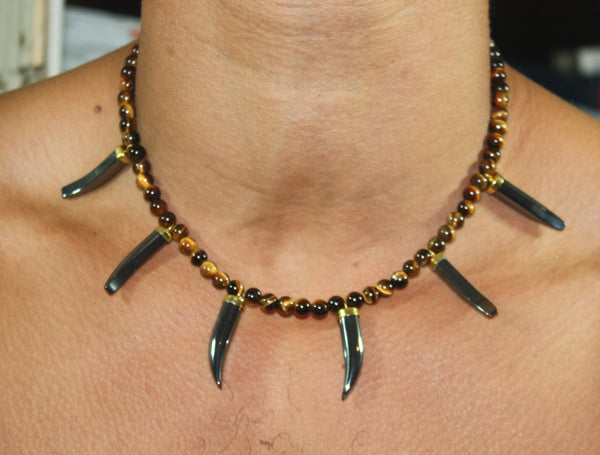 tiger tooth necklace