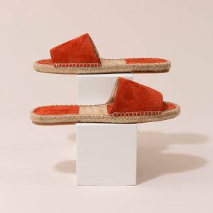 Olivia Slide Canvas Crudo