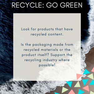 Recycle: Go Green