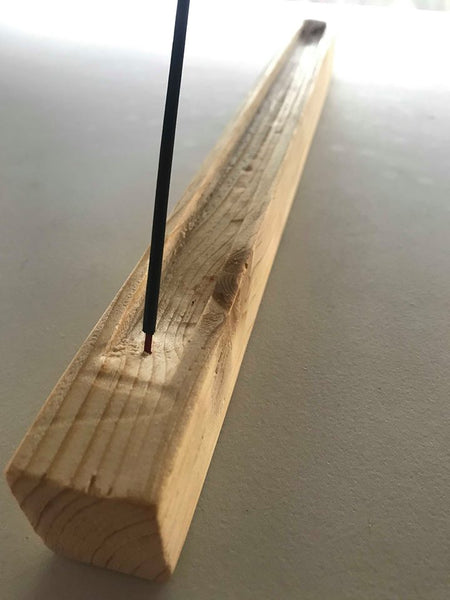 Handmade Wooden Incense Stick Holder