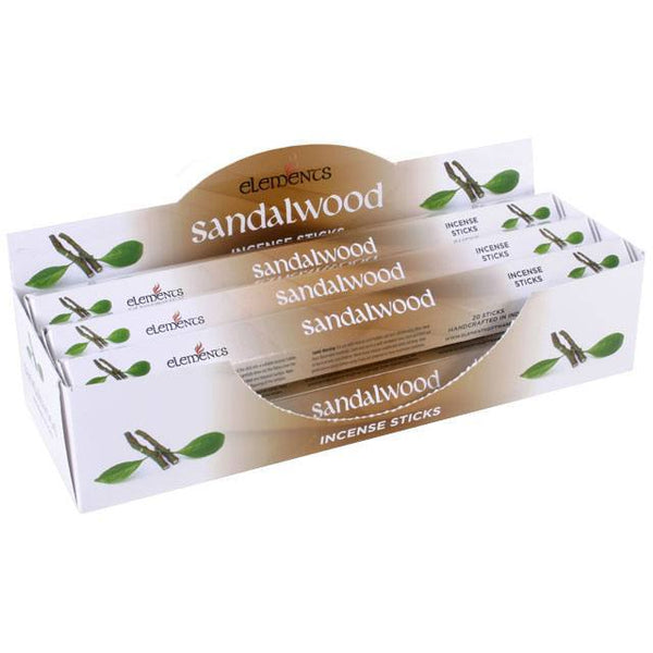 Sandalwood incense stick by elements