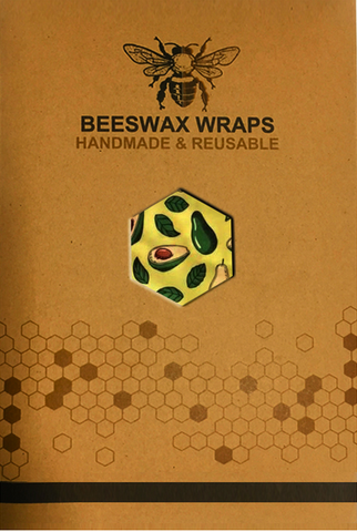Eco Friendly Reusable Beeswax Food Wraps