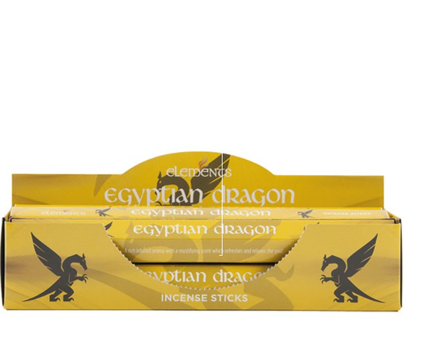Egyptian Dragon incense sticks by elements