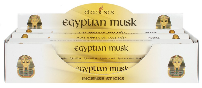 Egyptian musk incense sticks by elements