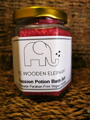 Passion Potion Bath Salt - The Wooden Elephant LTD
