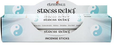 Stress relief incense sticks by elements