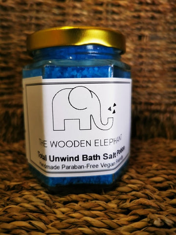 Total Unwind Bath Salt Potion - The Wooden Elephant LTD