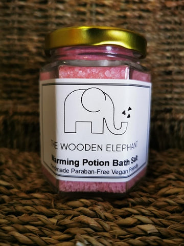 Warming Potion Bath Salt - The Wooden Elephant LTD