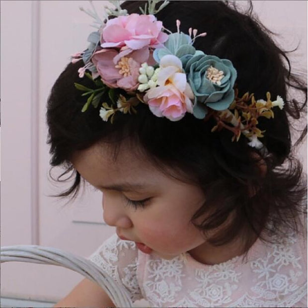 Ella Floral Headband Set