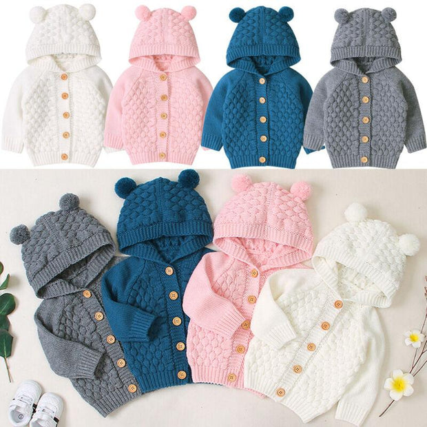 Little Bear Knit Cardigan
