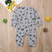 Infant Baby Boy Girl Kids Clothing Long Sleeve Jumpsuit Romper Cute Casual Cotton Clothes Outfit Baby Boys 0-24M