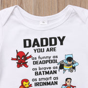 Daddy Is My Favorite Superhero Outfit