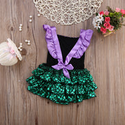 Sparkly Mermaid Romper