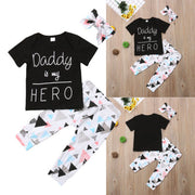Daddy Is My Hero Outfit