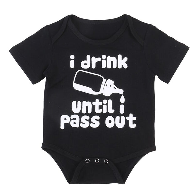 I Drink Until I Pass Out Bodysuit