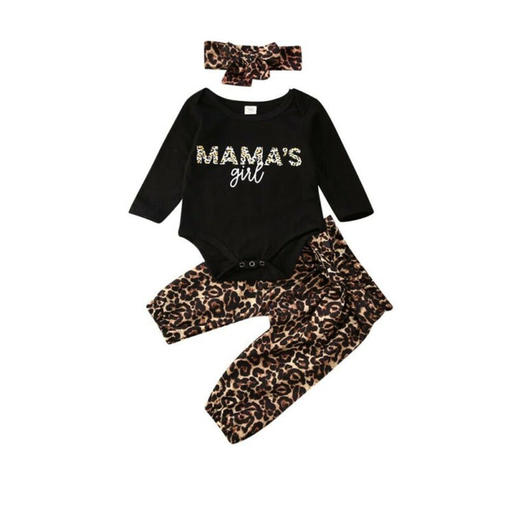 Mama's Girl Leopard Outfit