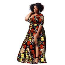 Load image into Gallery viewer, Dashiki  Style Dress Plus Size up to 6xl