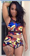 Load image into Gallery viewer, 2 Piece African Print Swim Suit