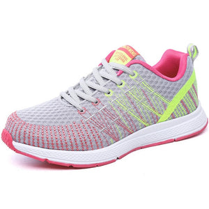 2019 Sport Running Shoes Woman Outdoor Breathable Comfortable Couple Shoes Lightweight Athletic Mesh Sneakers Women High Quality